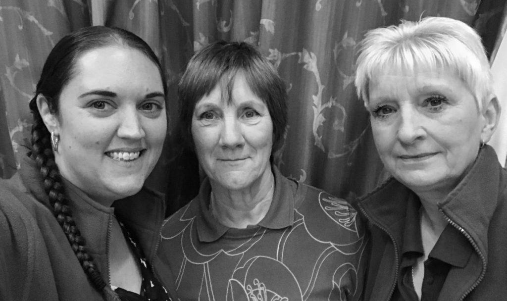 Our team: Emma, Sandra and Cheryl