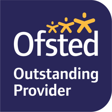 Ofsted logo - outstanding provider